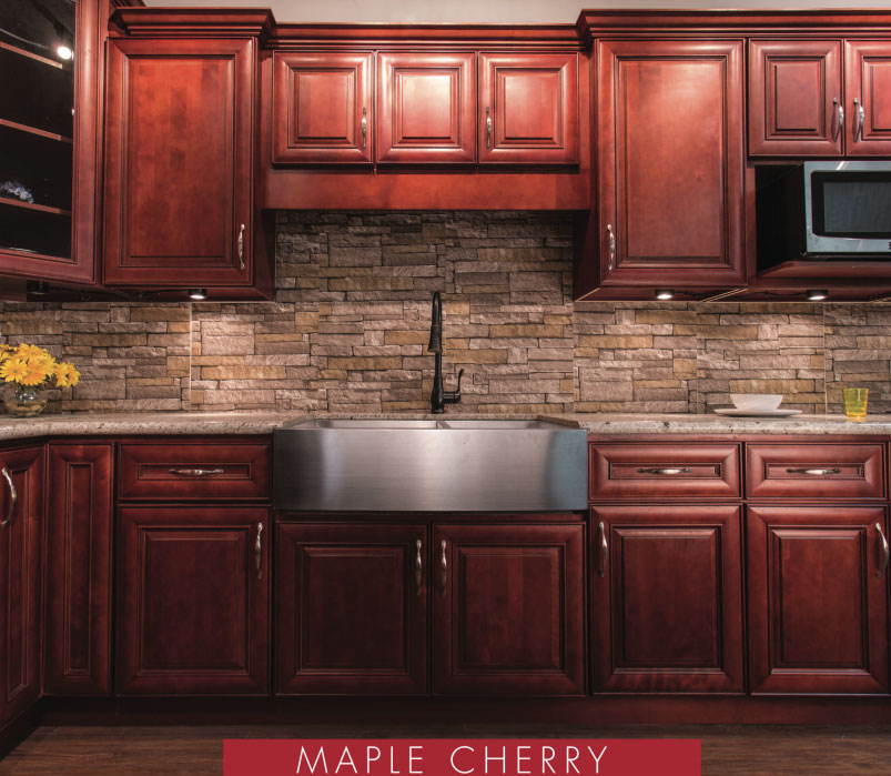 cherry kitchen cabinets - Orange County, CA Fastest Cabinets