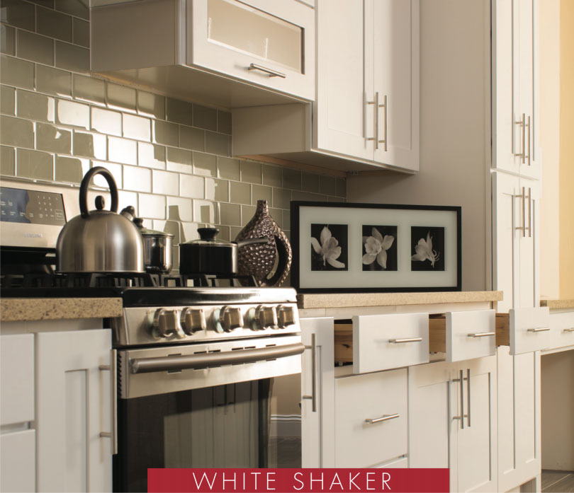 white shaker kitchen cabinets - Orange County, CA Fastest Cabinets