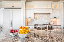 Cream Orange County CA Granite kitchen - Orange County, CA Fastest Cabinets