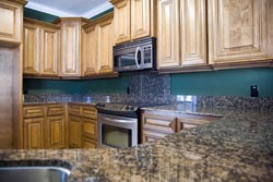 Orange County CA Dark Granite kitchen - Orange County, CA Fastest Cabinets